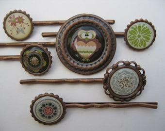 Decorative Hair Pins. Bobby Pins. Hair Accessories. Women's Hair Pins. Teen Hair Pins.