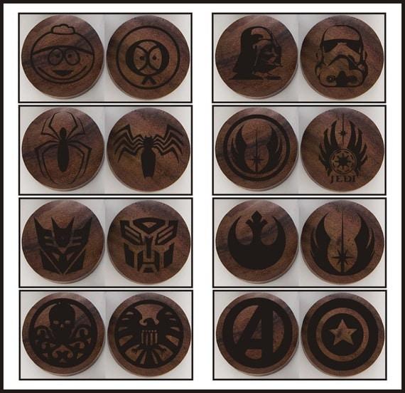 Handmade Organic Wooden Ear Plugs Custom Made w/ by ULEKstore