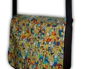 Simpsons Shoulder Messenger Bag Multi-Use Laptop, Books, Comic Con