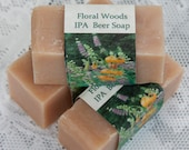 Floral Woods, IPA Beer Soap