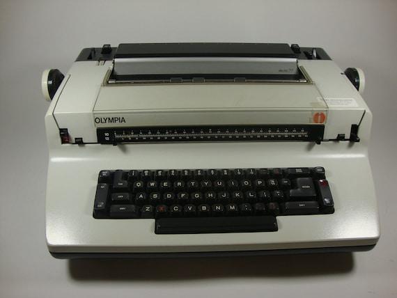 Vintage Olympia Electric 77 Typewriter