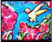 Acrylic Painting on Canvas...  Valerie