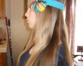 Simply Stetsin Hat/Hair Band (Blue, Yellow, & Orange)