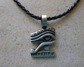 Fine Pewter Eye of Ra Pendant, Necklace FREE SHIPPING