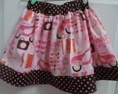 Girls Paris Skirt. Paris Skirt. Toddler Paris skirt. Twirly Skirt. Eiffel Tower Skirt. Girls Eiffle Tower Skirt. Toddler Eiffle Tower Skirt.