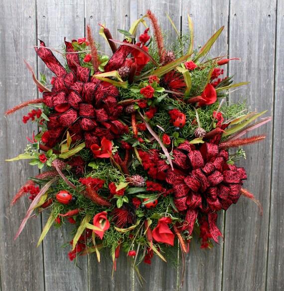 Lady Bug Love Wreath