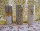 Set of 3 Avon Perfumed Talc.