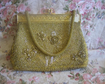 As gold as the fall leaves party purse