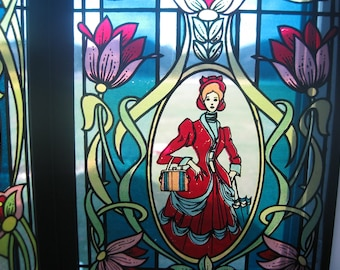 Avon 1976 Holiday Gift Stained Glass