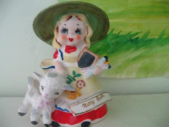 Mary Belle bell figurine.