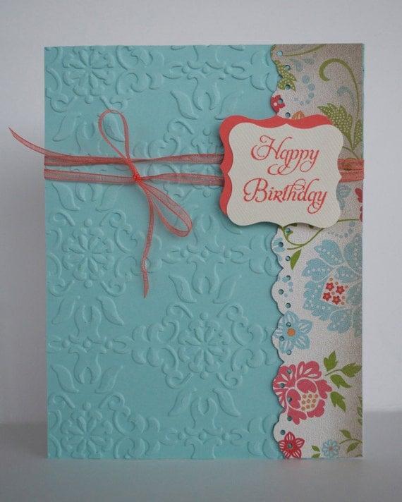 handmade card stampin up card birthday card greeting card, Birthday card