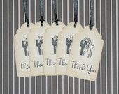 Vintage Inspired Wedding Thank You Tags