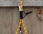 SALE 10% OFF - 6ft. Yellow/Red Climbing Rope Dog Leash