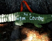This is Gator Country Gator Sign