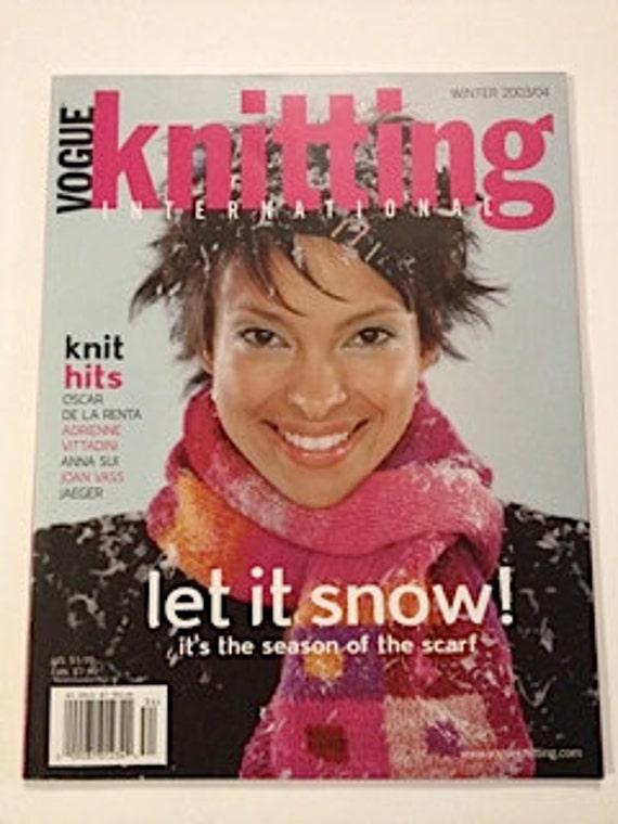 Vogue Knitting International - Winter 2003/2004
