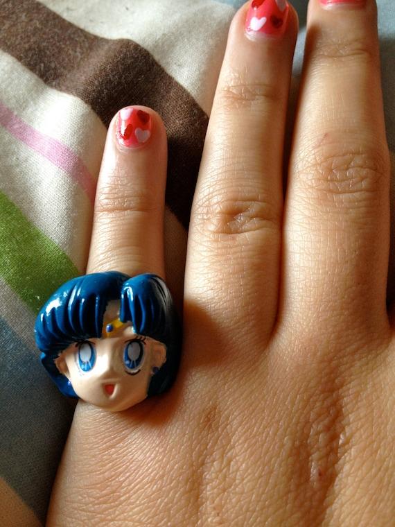 Sailor Mercury adjustable ring