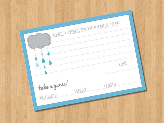 INSTANT DOWNLOAD - Advice to Parents - Printable Baby Shower Guest Book Alternatives - Item #18
