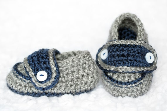 Baby Boy's Two-Button Loafers (3 to 6 months)