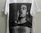 "Brad Pitt ""HUSTLER"" Rock Star Movie Star T-Shirt M"