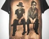 Johnny Depp & Tim Burton Movie Film Rock  T-Shirt  S