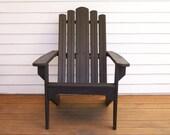 Adirondack Wood Chair, Wood Adirondack Chair, Outdoor  Chair,Outdoor Wood Furniture, Wood Deck Chair, Pool Chair ,Patio Chair ,Yard Chair,