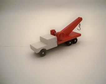 Wood Tow Truck, Wood Truck, Kids Toy Tow Truck, Wood Toy Truck, Kids Toy, Kids Wood Toy Truck