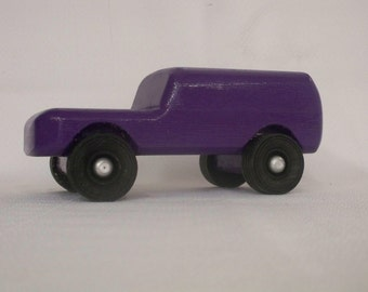 Panel Truck,Wood Toy Car, Boys Wood Toy, Kids Toy, Classic Wood Toy, Toy Truck, Wood Toy Truck,