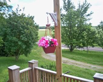 Hanging Flower Pot Planter, Deck Hanging Planter, Hanging Plant,Patio Hanging Planter, Indoor Outdoor Hanging Planter, Garden Planter