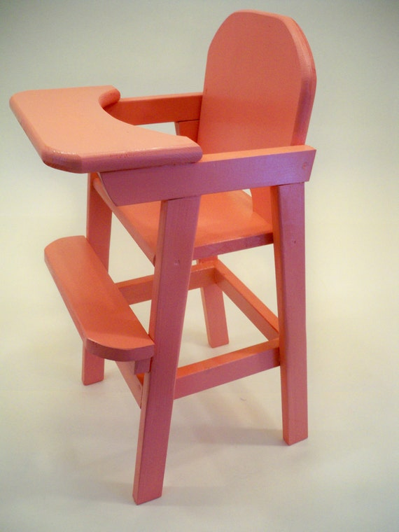 Wood Doll High Chairdoll Highchair Wood Doll Highchairdoll