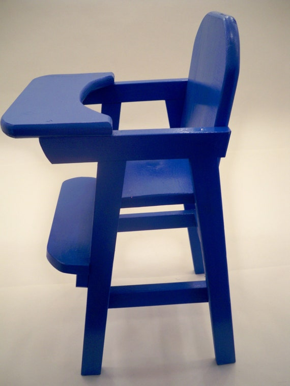 High Chair Toy Holder : Doll high chair highchairwood wood