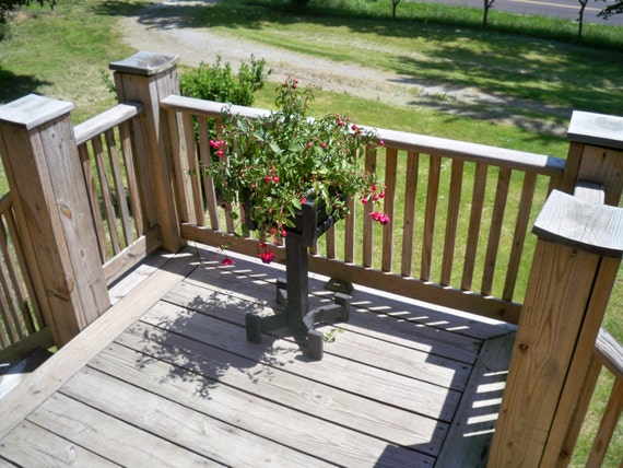 Wood Plant Standplant Stand Outdoor Flower Stand Wooden