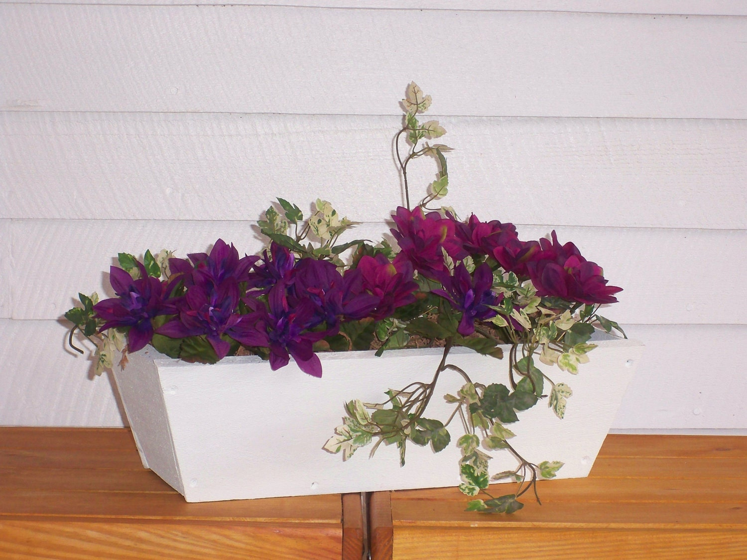 Rustic Style Flower Box Window Planter Window Box Center