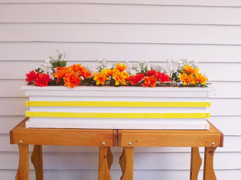 large garden flower box deck flower box patio flower pot. Black Bedroom Furniture Sets. Home Design Ideas