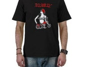 Pinup Girl, Rose, Rockabilly Gift, Greaser Gift, Vintage Motorcycle, Gifts for Dad, Fathers Day Gifts, Rockabilly Dad, Rock N Roll, Tee
