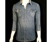 Vintage Remake Slim Denim Shirt
