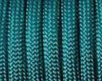 50 ft hank of Teal 550 Paracord