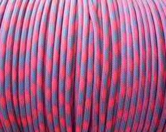 100 ft hank of Cotton Candy 550 Paracord by E.L. Wood