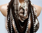 Anatolian brown scarf, 2012 summer trends, cotton fabric scarf, Turkish cheesecloth, yemeni scarf, authentic,