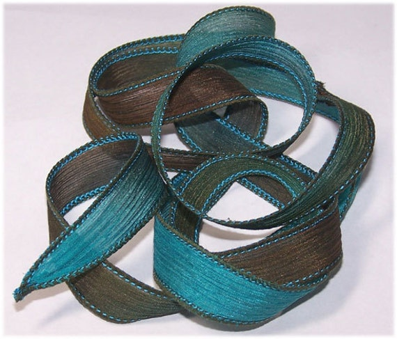 Sassy Silks Hand Painted/Dyed Ribbons Chinook