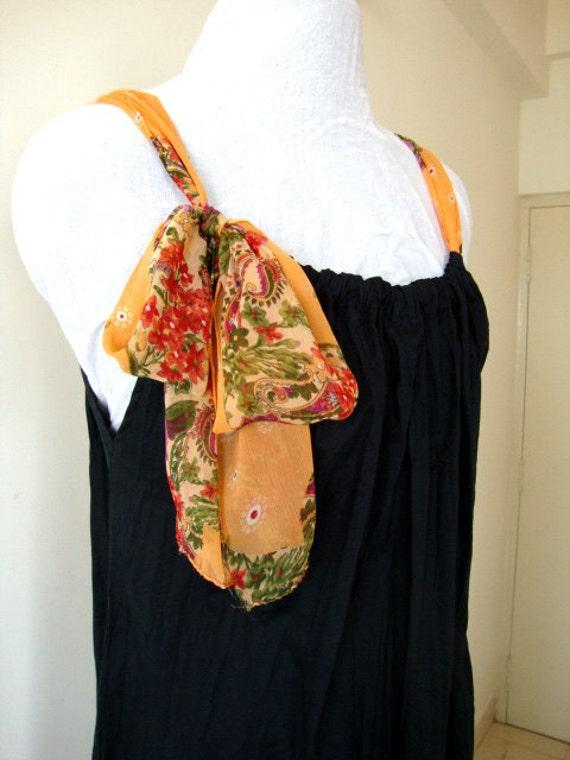 Women crushed cotton Black Gown Maxi dress evening wear Beach wear pure chiffon lace