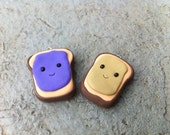 Happy Peanut Butter and Jelly Best Friends Charm Set