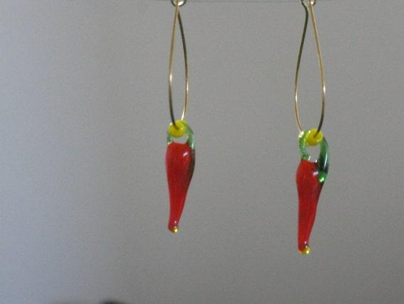 Hot Chili earrings