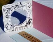 L A - L A - L A N D design no.2 - greeting card