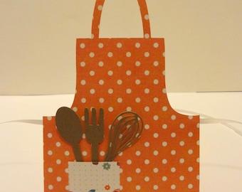 Adorable Orange Gift Card Holder