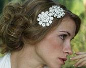 Bridal Rhinestone Headband Ambre