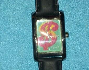 Andy Warhol Dollar Watch
