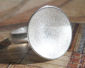 Silver Ring Frost size 8.5