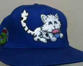 Kitty Cat Cap / Snapback / Size Adjustable