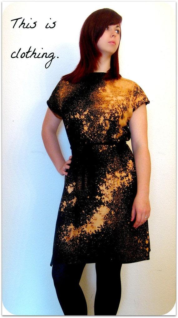 Galaxy Dress: space nebula slouch oversized