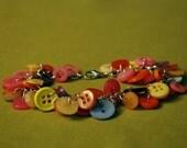 Sunset Button Bracelet